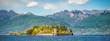 canvas print picture - Isola Bella, Stresa, Lago Maggiore