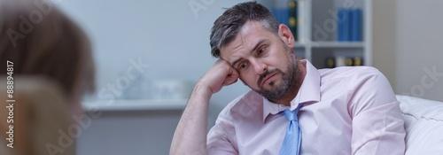 Fotografie, Obraz  Patient's sadness