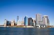Blick von der Fähre auf Manhattan - New York City