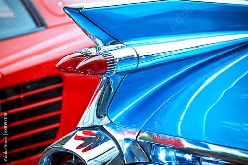 Photo Oldtimer US-Car Cadillac Eldorado Biarritz Heckflosse
