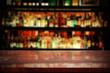 desk top in bar