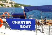 Rental Charter Boat At The Sea...