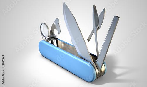 Multipurpose Penknife Tablou Canvas