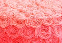 Pink Rose Gradient Cake