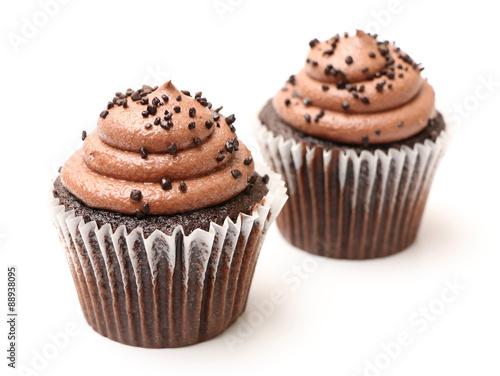 Photo  Chocolate Cupcakes