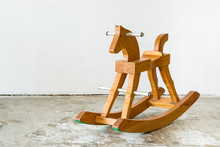Cute Vintage Classic Rocking Horse Chair Children Could Enjoy Th