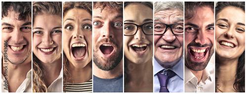 Valokuva  People laughing