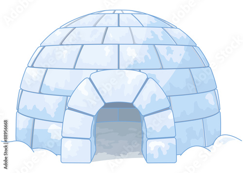 Poster Magie Igloo