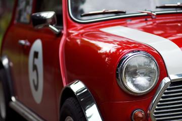 Klasični detaljni mini Cooper detalj