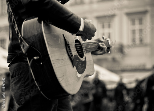 Photo  Acoustic guitar