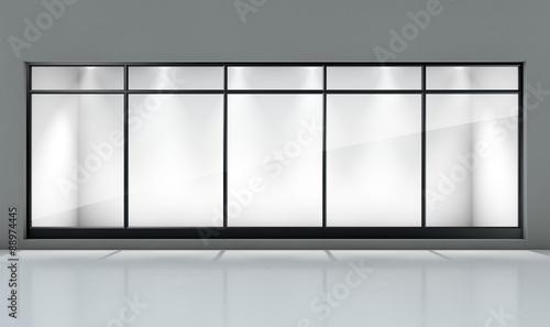 Obraz na plátně Shop Window Display