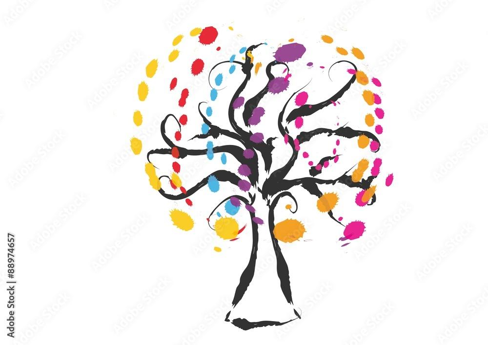 Fototapety, obrazy: drzewo,palma