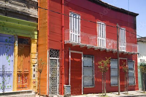 Deurstickers Buenos Aires Caminito in La Boca, Buenos Aires Argentina