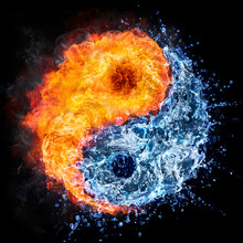 Fire And Water - Yin Yang Conc...