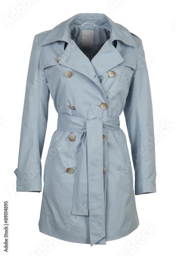 Fotografie, Tablou  blue jacket isolated