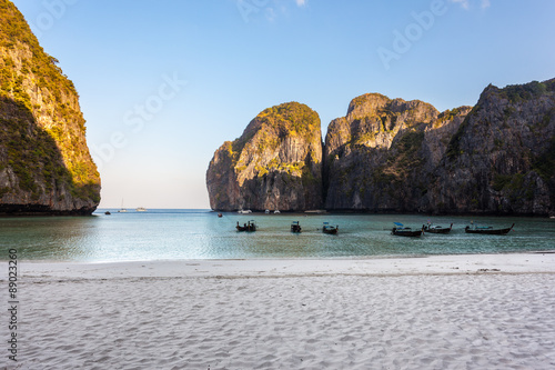 Foto  Maya beach in thailand
