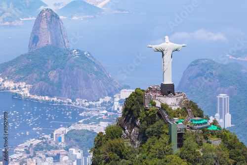 Christ Redeemer Canvas Print