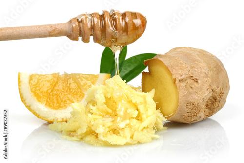 Photo  Honey, Lemon and Ginger