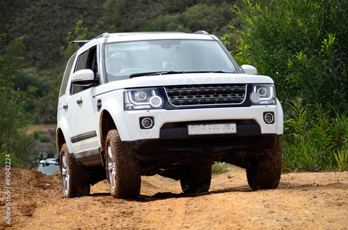 4x4 Trail driving in South africa Wallpaper Mural