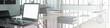 Panorama von Büro mit Computer in Planung