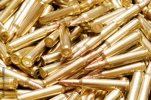 Golden ammo background Fototapete