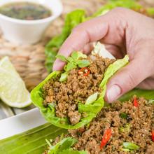 Larb - Lao Minced Beef Salad W...