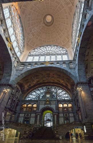 Keuken foto achterwand Antwerpen Antwerp central train station