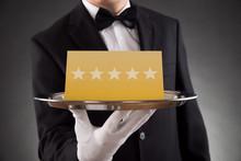 Waiter Serving Star Rating