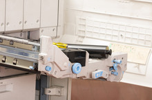 Closeup Shot Photocopier Machine