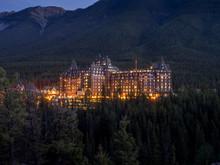 Night In Banff National Park W...