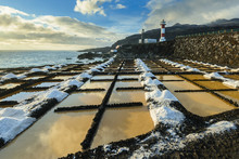 Salinas And Lighthouse Of Fuencaliente, La Palma, Canary Islands (Spain)