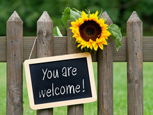 You Are Welcome !