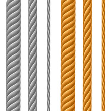 Set Of Metal Cables