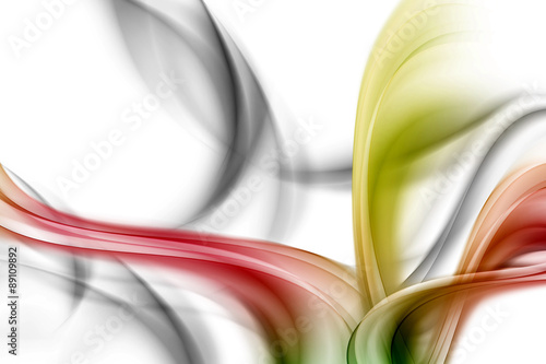 abstract color wave background