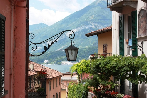 Bellagio old village on Lake Como in Lombardy, Italy #89115080