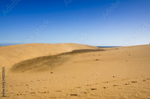 Staande foto Zandwoestijn Dunes of Maspalomas
