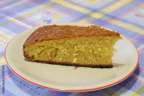Fotografie, Obraz  Porzione di dolce fatto in casa