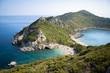Zwillingsbucht in Korfu