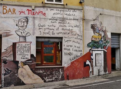 Fotografie, Obraz  Murales von Orgosolo
