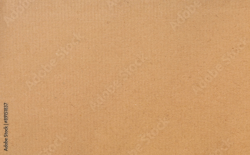 Foto Brown cardboard background
