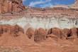 Capitol reef - Steinformation in Rot und Weiß