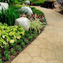 Stone Walkway In Garden