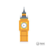 Fototapeta Big Ben - Big Ben icon