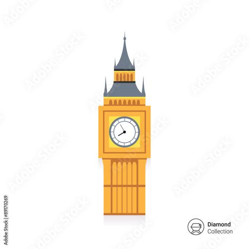 Fotografia  Ikona Big Ben