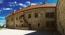 Sanok Royal Castle Was Built In Late 14th Century In Poland