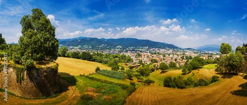 Photo  Bergamo is a city in Lombardy, Italy