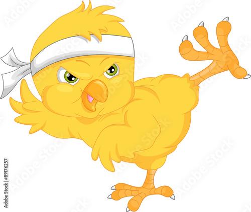 Slika na platnu cute chick cartoon