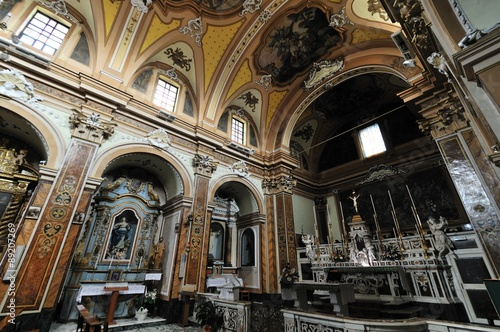 Molise, Agnone (IS), Chiesa di Sant'Antonio Abate Canvas Print