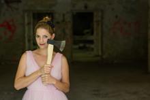 Cute Serial Killer Woman