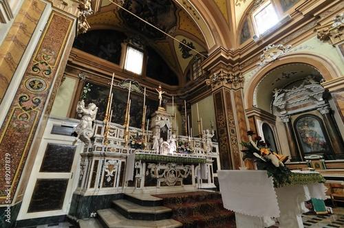 Molise, Agnone (IS), Chiesa di Sant'Antonio Abate Canvas Print